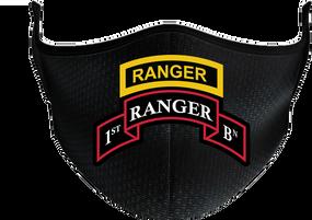 1-75th Ranger Battalion -Tab Mask