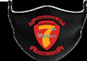 7th Marine Regiment FMF Mask