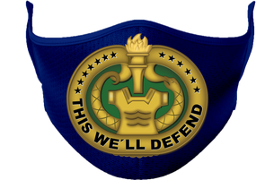US Army Drill Sergeant Badge Mask