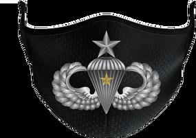 US Army Senior Wings w/ Combat Jump Mask