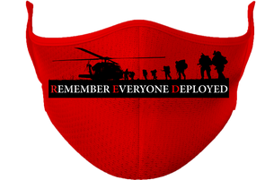 Remember Everyone Deployed RED  Mask