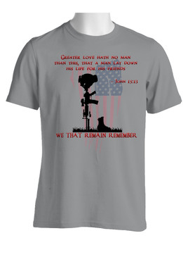 Memorial Day Moisture Wick Shirt