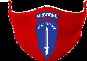 "US Army Infantry ""Airborne"" School Mask"