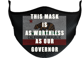 State of California Mask