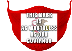 State of Illinois Mask