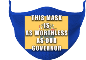 State of New Jersey Mask