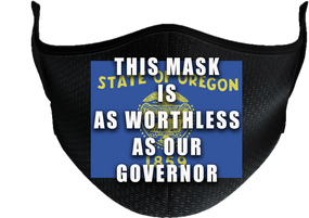 State of Oregon Mask