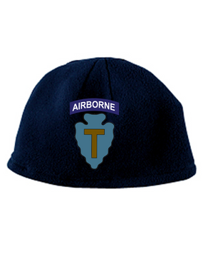 36th Infantry Division (Airborne) Embroidered Fleece Beanie