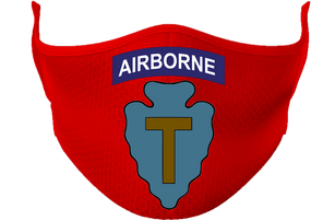 36th Infantry Division (Airborne) Mask