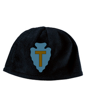 36th Infantry Division Embroidered Fleece Beanie