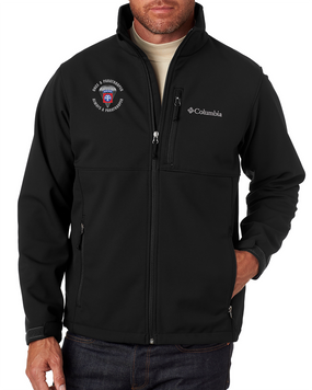"""82nd Airborne """"Once a Paratrooper"""" Embroidered Columbia Ascender Soft Shell Jacket"""