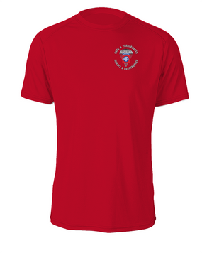 """82nd Airborne """"Once a Paratrooper""""  Cotton T-Shirt"""