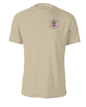 """82nd Airborne """"Once a Paratrooper-Ranger""""  Cotton T-Shirt"""