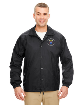 """82nd Airborne """"Once a Paratrooper-Ranger"""" Embroidered Windbreaker"""