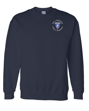 "173rd Airborne ""Once a Paratrooper"" Embroidered Sweatshirt"