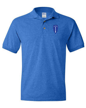 U.S. Army Infantry School Embroidered Cotton Polo Shirt