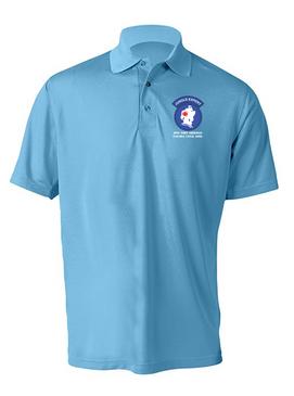 JOTC -Jungle Operations Training Center- Embroidered Moisture Wick Shirt