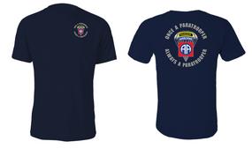 "82nd Airborne Ranger ""Once a"" Cotton Shirt"