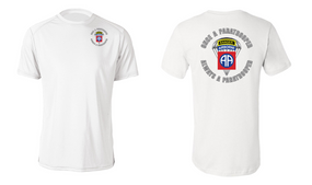 "82nd Airborne (Ranger) ""Once a"" Moisture Wick Shirt"