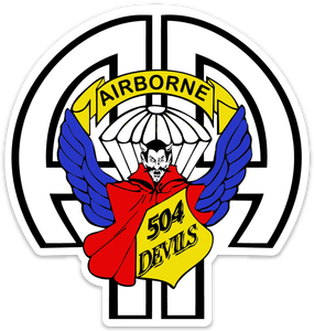 """504th PIR """"Devil""""  Magnet"""