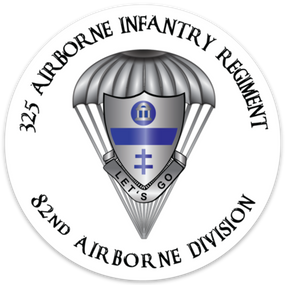 325th Airborne  Infantry Regiment  Vinyl Cut Decal (A)