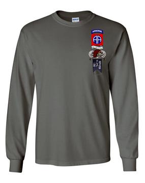 1-504th Long-Sleeve Cotton Shirt