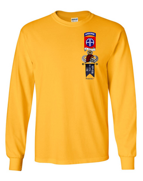 "1-504th ""Master"" Long-Sleeve Cotton Shirt"