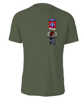 """A Company 1-504 P.I.R. """"Senior""""  Cotton T-Shirt"""