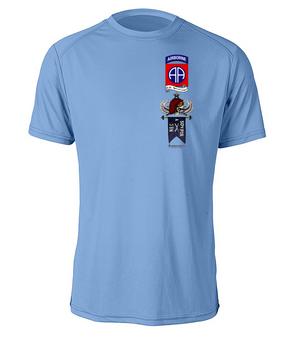 "A Company 3-504 ""Senior"" Parachute Infantry Regiment Moisture Wick Tee"