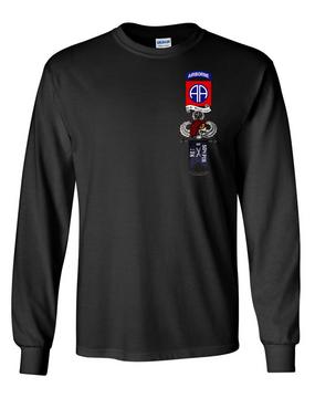 "B Company 1-504 ""Master"" Long-Sleeve Cotton Shirt"