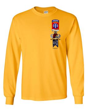 "B Company 2-504 ""Master"" Long-Sleeve Cotton Shirt"