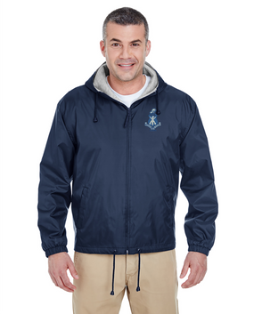 Puerto Rico ROTC Embroidered Fleece-Lined Hooded Jacket