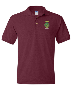 PR ROTC Embroidered Cotton Polo Shirt