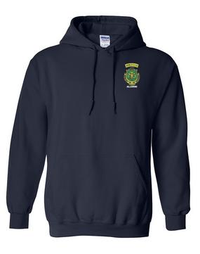 PR ROTC Embroidered Hooded Sweatshirt