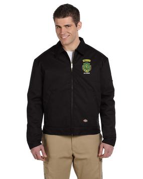 PR ROTC Embroidered Dickies 8 oz. Lined Eisenhower Jacket