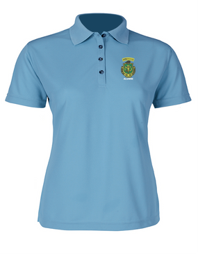 Ladies PR ROTC Embroidered Moisture Wick Polo Shirt