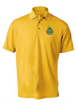 PR ROTC Embroidered Moisture Wick Polo Shirt