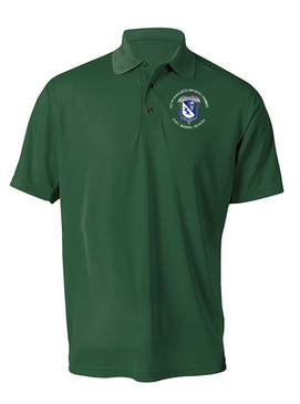 507th Parachute Infantry Regiment Embroidered Moisture Wick Polo (Custom)