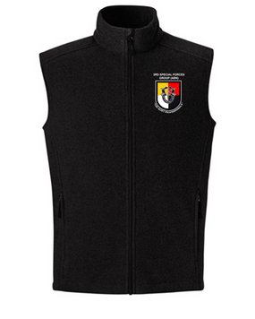 3rd Special Forces Group Embroidered Fleece Vest