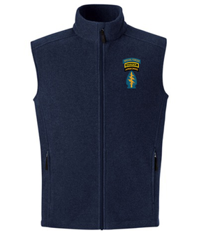 Triple Canopy Embroidered Fleece Vest