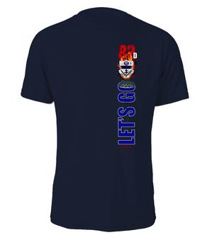 1-325th Battle Streamer Cotton T-Shirt