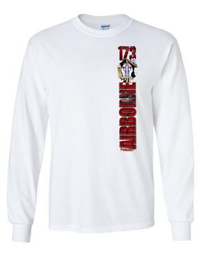 """1-503rd """"Battle Streamer"""" Long Sleeve Cotton Shirt"""