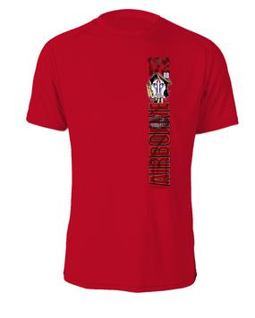 1-503rd Battle Streamer Cotton T-Shirt