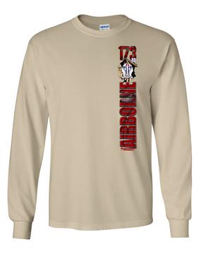 """2-503rd """"Battle Streamer"""" Long Sleeve Cotton Shirt"""