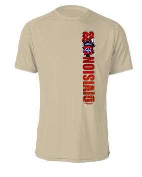 "82nd Airborne Division ""Battle Streamer"" Cotton T-Shirt"