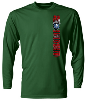 """82nd Airborne Division Hqtrs & Hqtrs  """"Battle Streamer"""" Long-Sleeve Moisture Wick"""