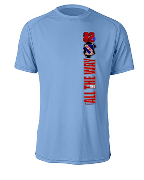 508th Battle Streamer Moisture Wick Tee