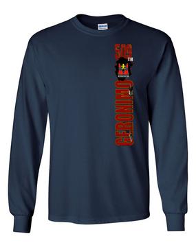 "509th ""Battle Streamer"" Long Sleeve Cotton Shirt"