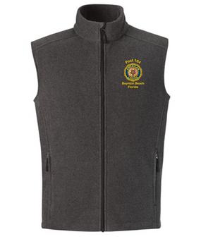 Post 164 Embroidered Fleece Vest