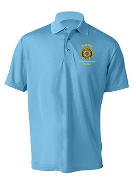 Post 164 Embroidered Moisture Wick Polo